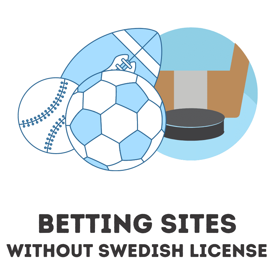 betting sites without swedish license