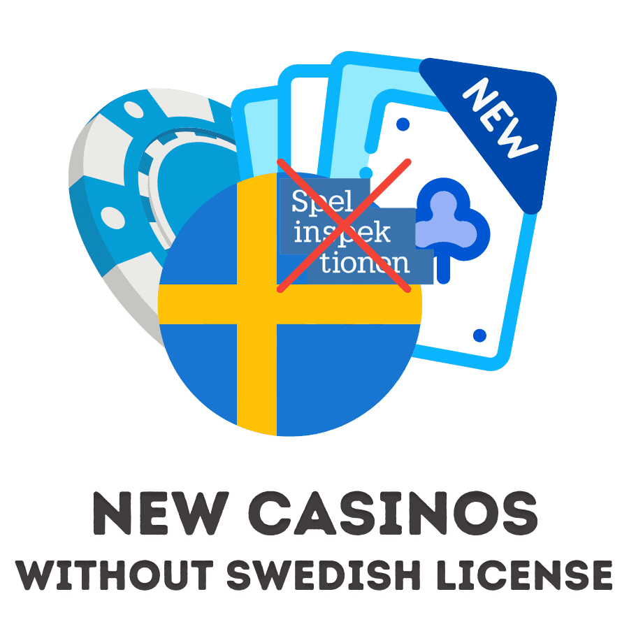 new casinos without swedish license