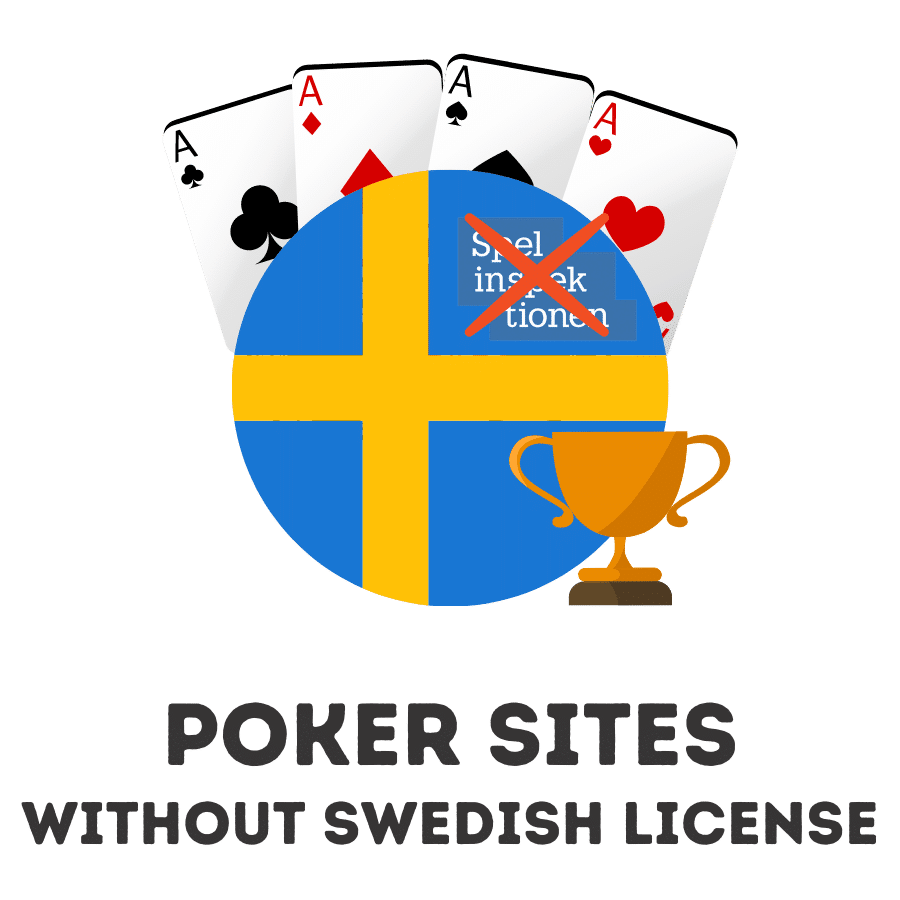 poker sites without swedish license