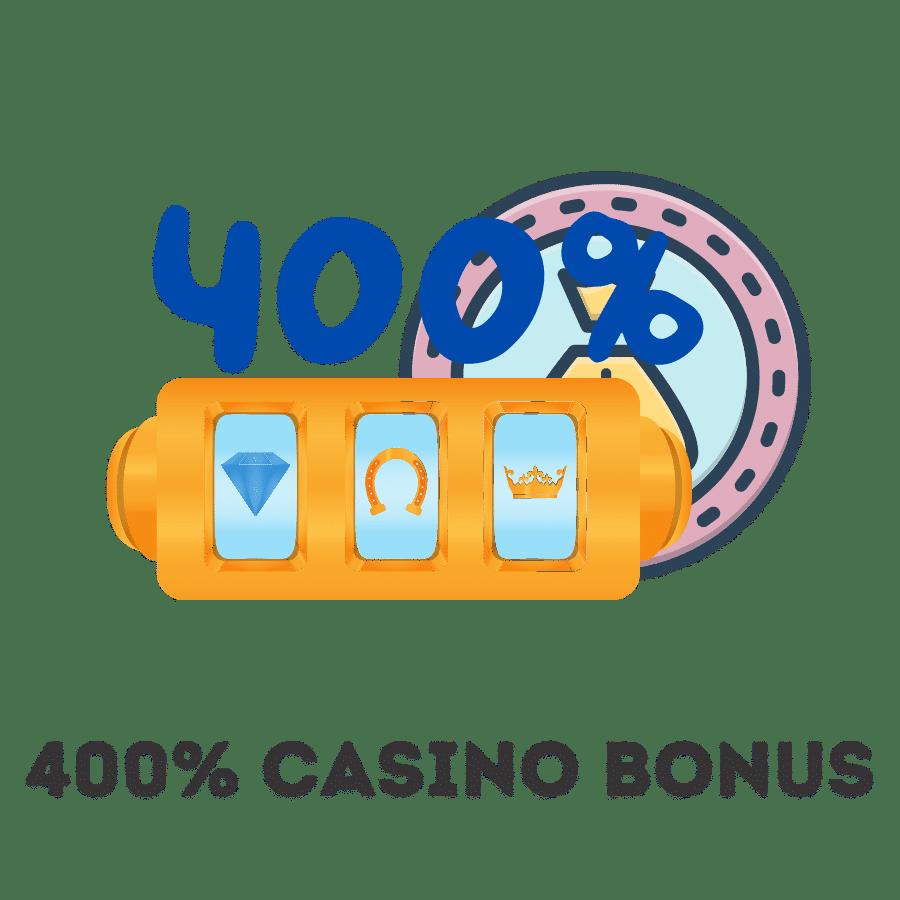 400% deposit bonus uk