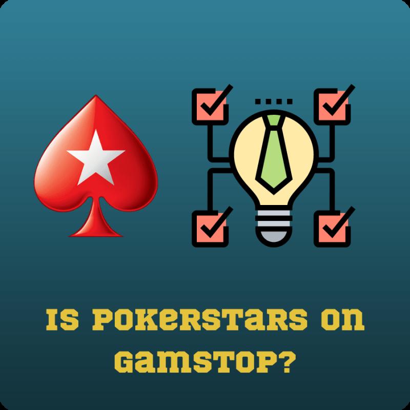 is pokerstars on gamstop