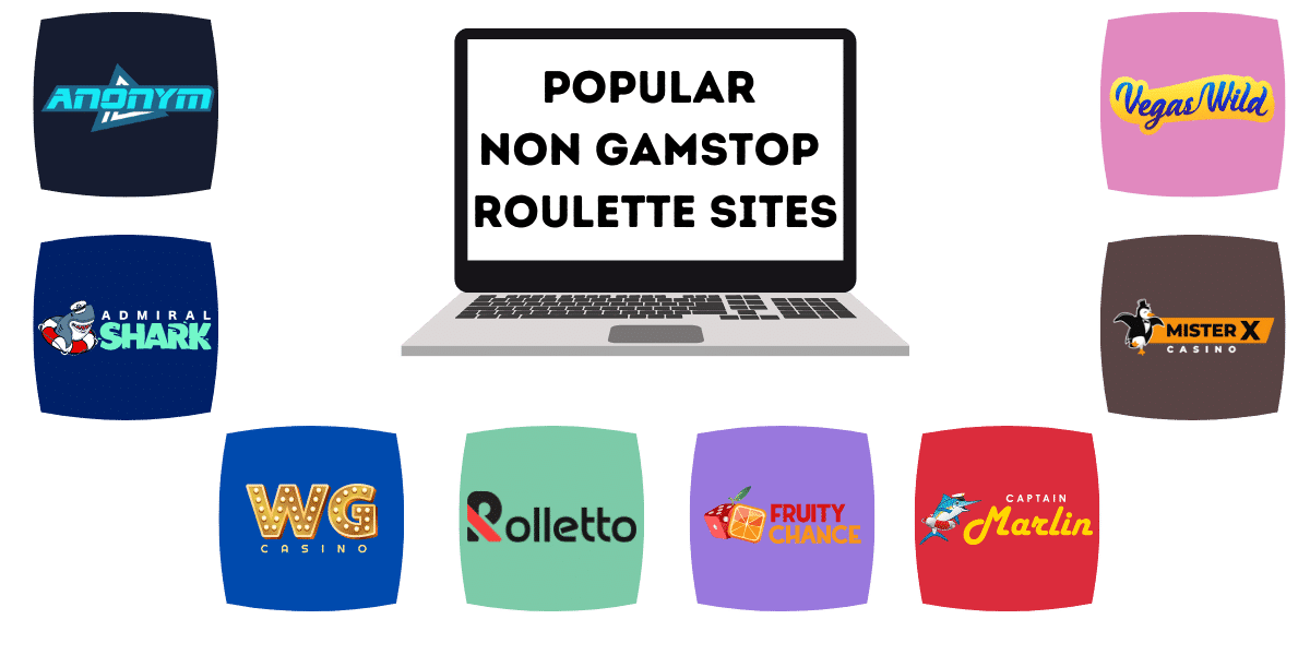 popular roulette sites not on gamstop