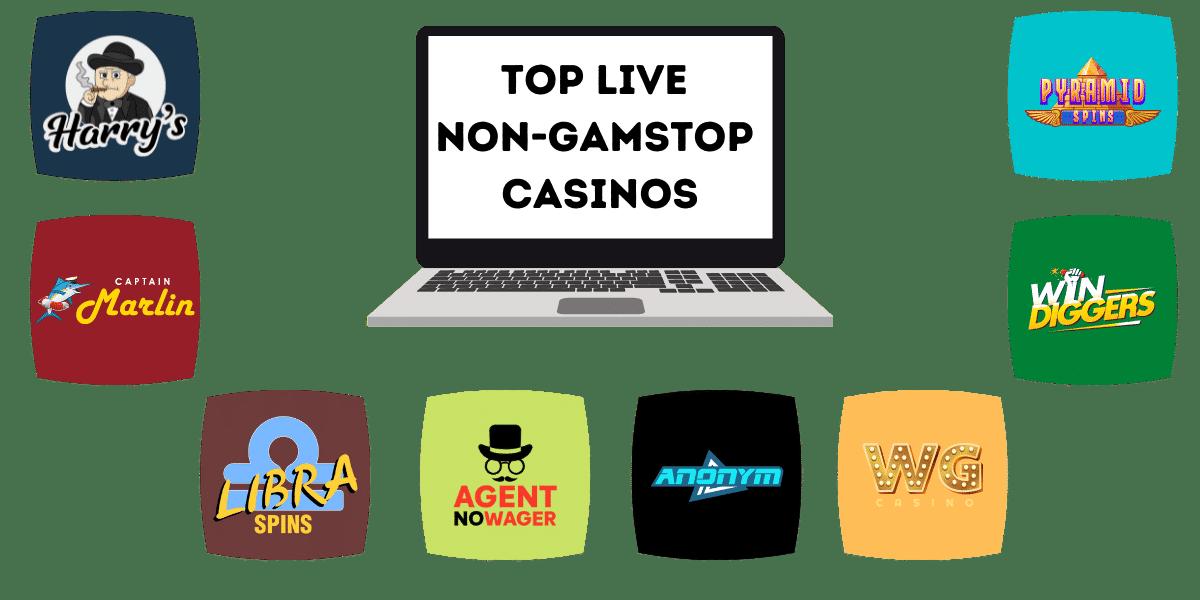 best live casinos not on gamstop