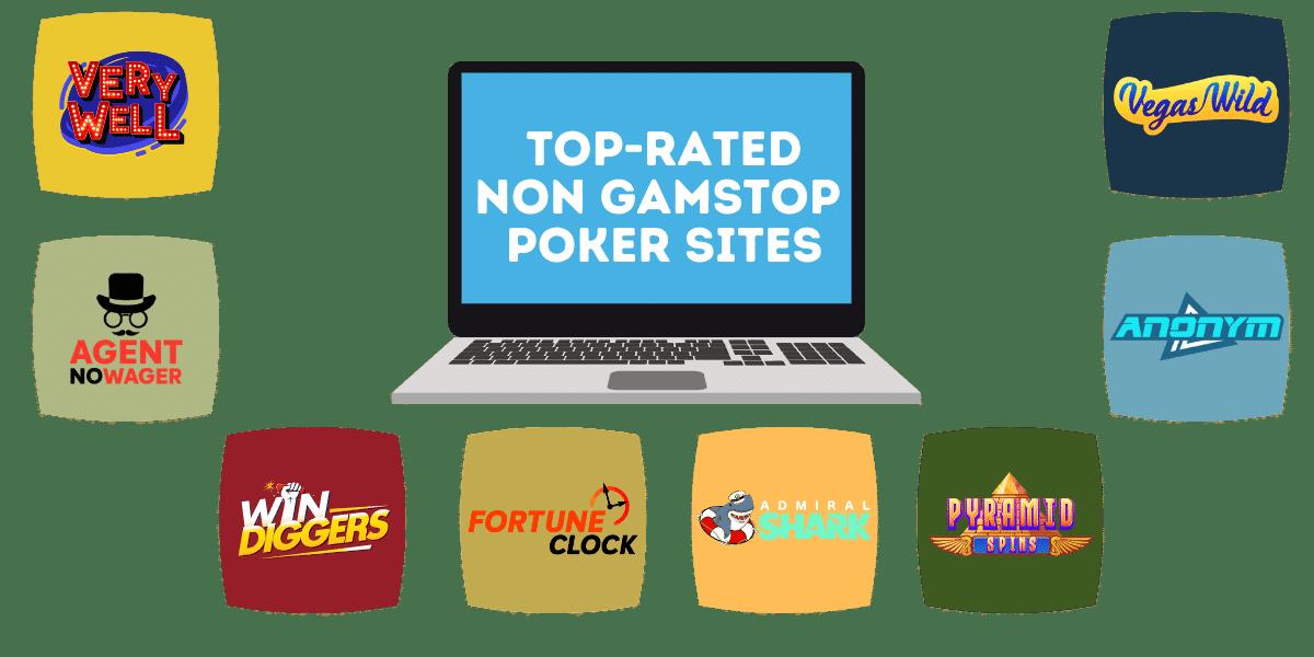 top poker sites not on gamstop