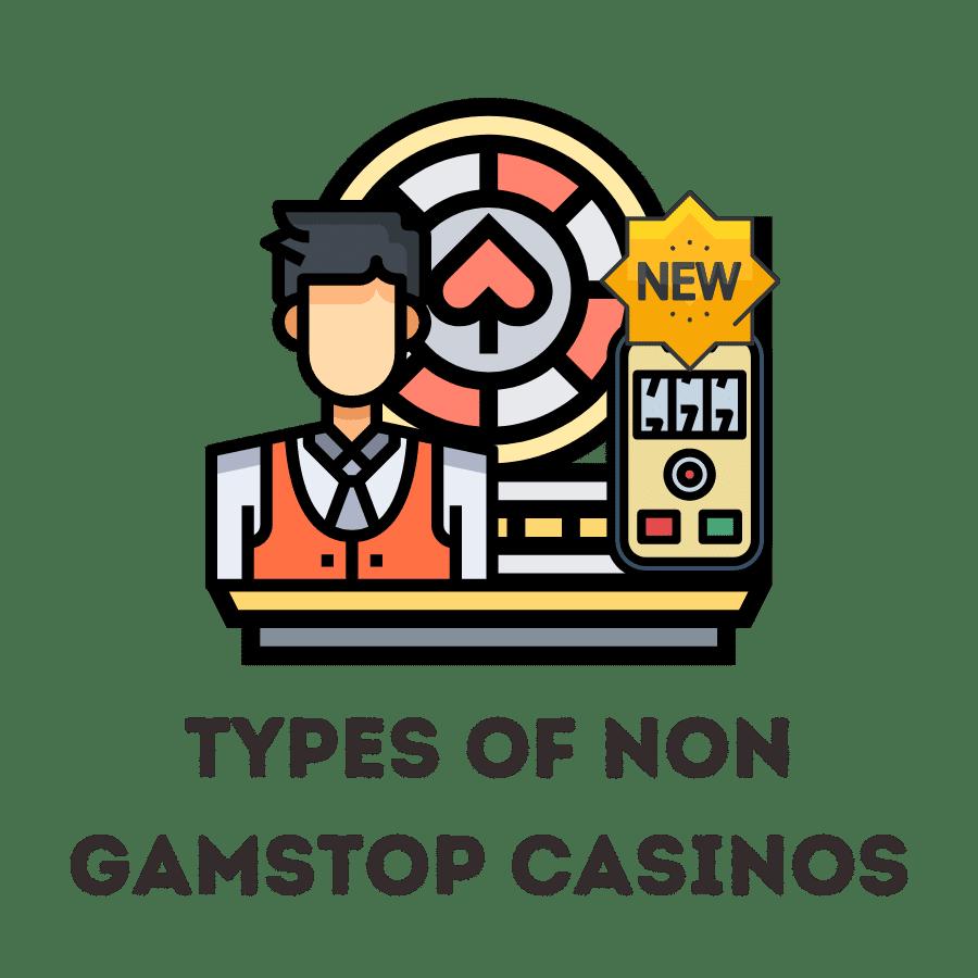types of non gamstop casinos
