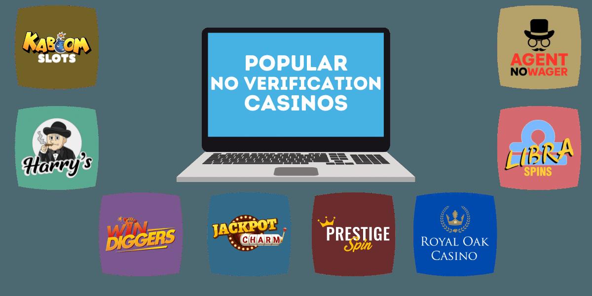 popular no verification casino sites